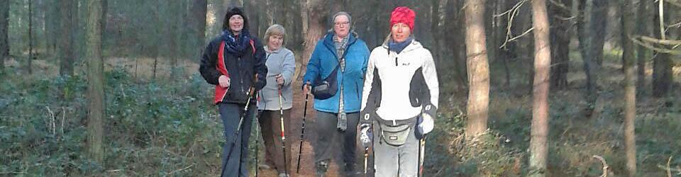 Nordic Walking als Reha-Sport beim GSV HiT, Edenkoben